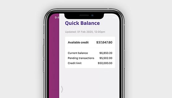 Farmers Mastercard quick balance